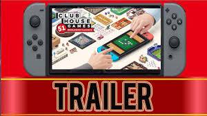 Clubhouse Games 51 Worldwide Classics - Nintendo Switch - YouTube
