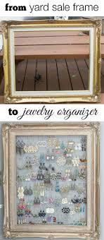 diy jewelry ideas diy framed jewelry storage how to make the coolest jewelry ideas