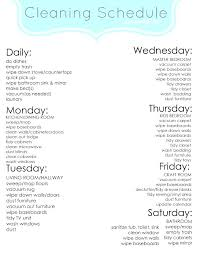 Weekly Household Cleaning Schedule Weekly House Cleaning Checklist Service Singapore Nimlog Co
