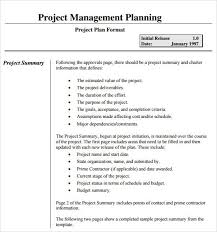 Project Schedule Management Plan Template 10 Procurement Management Plan Templates Pdf Word Examples