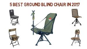 5 best ground blind chair in 2017 best ground blind chair review