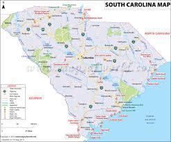 buy reference map of south carolina