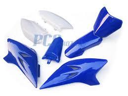 yamaha ttr50 ttr 50 plastics fender kit blue ps56