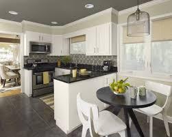 gray kitchen walls