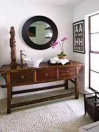 photos antique style bathroom vanity