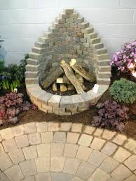 round brick fire pit plans surprising brick also back famed