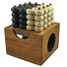 Wooden Strategy Games Connect Four 100D Wooden Strategy Game 60