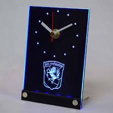 Tnc1005 FC Twente Enschede Eredivisie LED Neon Lambalı Tabelalar 3D LED  Masa Masa Saati Duvar Saatleri - Www9.sundayvip.me