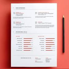 Designer Resume Templates Free Minimal Resume Template Nice Resume ...