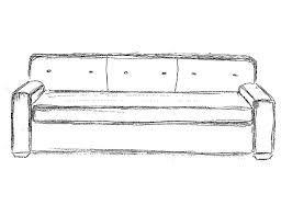 couch drawing side view. . interior decorating - halcyon heroine portfolio couch drawing side view c
