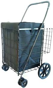 Collapsible Rolling Cart Folding Office Cart Tap Image To Zoom