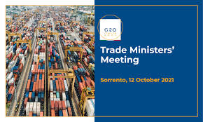 The G20 Ministerial Meeting on Trade to be held in Sorrento