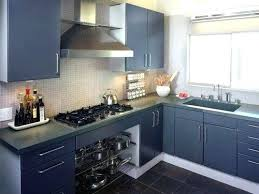 kitchen cabinets painted blue homehubco