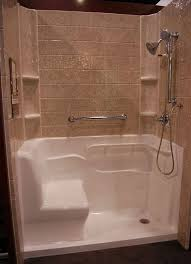 shower units for small bathrooms bathroom shower stalls with seat