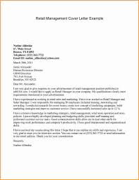 Retail Cover Letter Sample Cover Letter Format Retail Job Cv Template For Retail