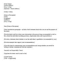 Reference Letter For Apartment Recommendation Rental