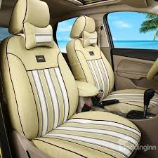 cozy design soft and comfortable stripes patterns custom fit car