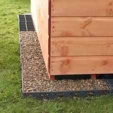 ecobase shed base a garden shed base