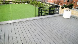 gray composite decking. Plain Composite Pebble Grey Composite Decking On Gray B