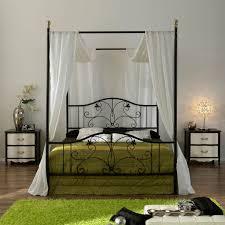 Iron Canopy Bed Frame | HomesFeed
