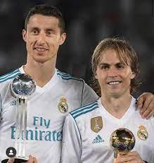 SPORTbible - Cristiano Ronaldo and Luka Modric faceswap 😂👊🏻