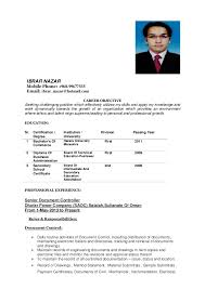 What Is A Resume For A Job Inspiration NEED JOB IN OMAN Ibrar Nazar Resume