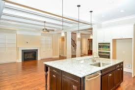 ... Kitchen Design, Breathtaking Brown Rectangle Modern Wooden Kitchen  Island With Dishwasher And Sink Varnished Design ...