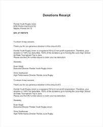 Tax Deductible Donation Letter Tax Deductible Donation