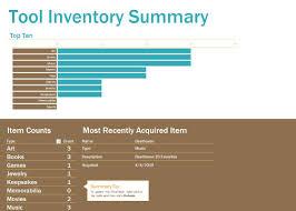 Tool Inventory Sheet List Spreadsheet Room Emergentreport