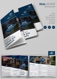 corporate brochure templates psd designs premium excellent real estate a3 tri fold brochure a3trifoldbrochuremockup