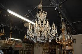 antiques legacy antiques french beaded crystal chandelier