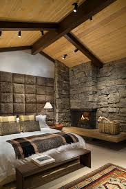 fireplace hearth ideas bedroom rustic with area rug bed pillows image by ike kligerman barkley