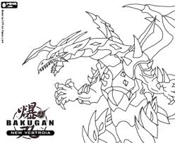 Fresh Free Bakugan Coloring Pages Page For Toddler Printable