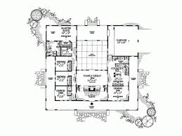 Spanish Revival House Plan   Square Feet and Bedrooms    Level