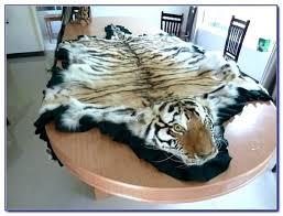 real tiger rug fascinating white tiger rug real tiger skin rug rugs ideas fake white