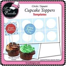 Cake Topper Template Birthday Cakes And A Giveaway Cupcake