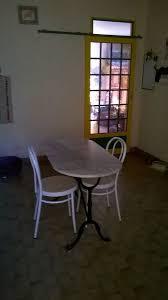 Table De Cuisine Marbre Las Cassero