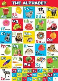 The Alphabet School Zone Wall Charts By Hinkler Books Pty
