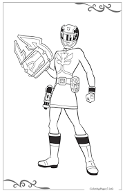 All our coloring pages are super easy to print. Power Rangers Coloring Pages Printable