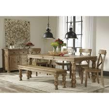 Ashley Furniture Kitchen Table Set Ashley Furniture Trishley Rectangular Dining Extension Table Set
