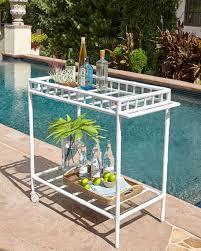 bamboo bar cart. Bamboo Bar Cart