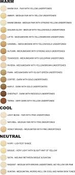 Foundation Match Chart Foundation Match Chart Awesome Jane Iredale Color Chart