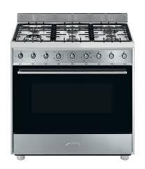 free standing stove. Smeg CS90GMXHA 90cm Freestanding Dual Fuel Stove/Oven Free Standing Stove