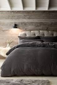 teddy fleece duvet cover and