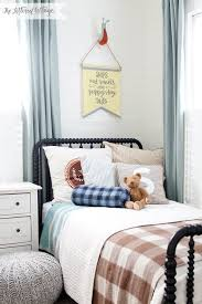 boys bedroom kids room cottage style schoolhouse electric bedding characters by julia