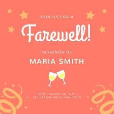 dinner invitation sample farewell party invitation with formal farewell dinner invitation for