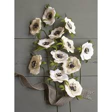 Paper Flower Kit Crepe Paper Flower Kit Anemones
