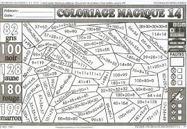 124 Dessins De Coloriage Magique Ce2 Imprimer