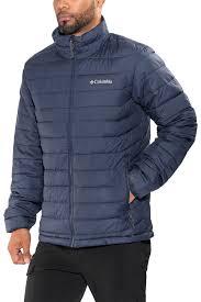 columbia powder lite jacket men blue winter jackets parkas oxkvkn