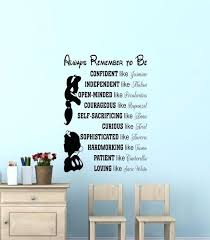 disney wall decor in this house we do wall decal wall es wall vinyl decal wall decor wall art wall words saying wall stickers by disney wall decor